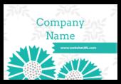Floral Tiles - stickers-labels Maker