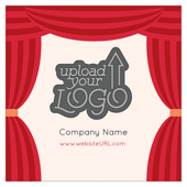 Curtain Call - stickers-labels Maker