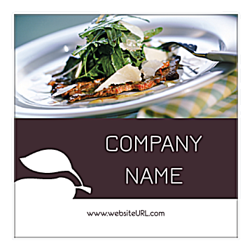 Personalize Our Check Please Sticker Design Template front - Stickers Maker