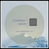 Mountain Peak - stickers-labels Maker