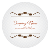 Cursive & Gray - stickers-labels Maker