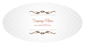 Cursive & Gray - stickers-labels Maker