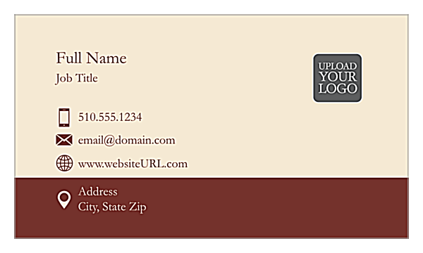 Linear Tradition front - Ultra Business Cards Maker