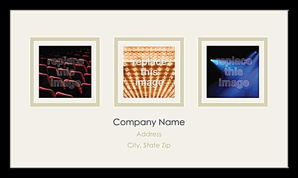 Triptych back - Ultra Business Cards Maker