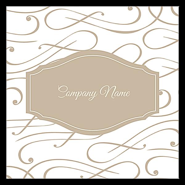 Elegant Scroll back - Ultra Business Cards Maker