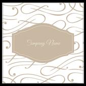 Elegant Scroll - ultra-business-cards Maker