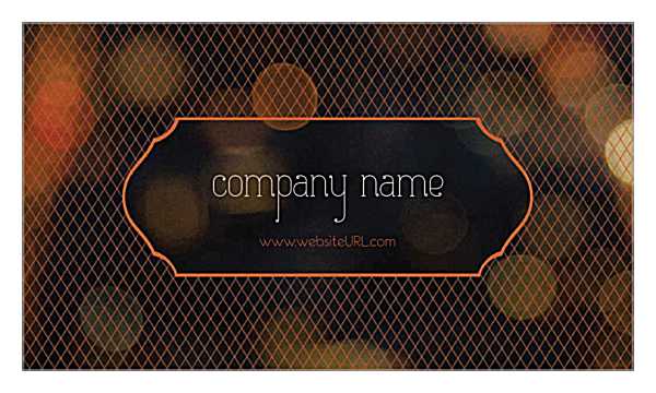 Crosshatch front - Ultra Business Cards Maker