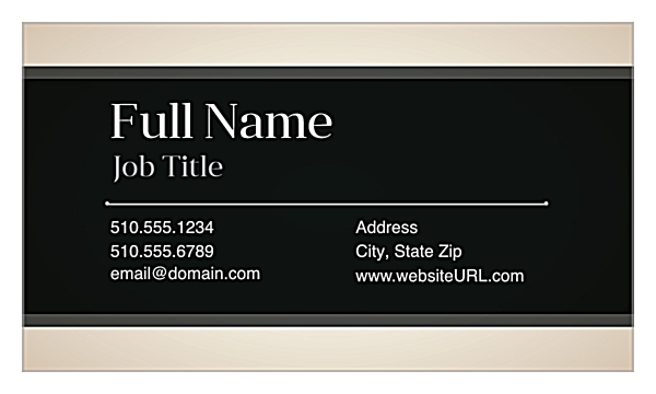 Corporate Buzz front - Ultra Business Cards Maker