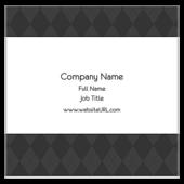 Gray Argyle - ultra-business-cards Maker