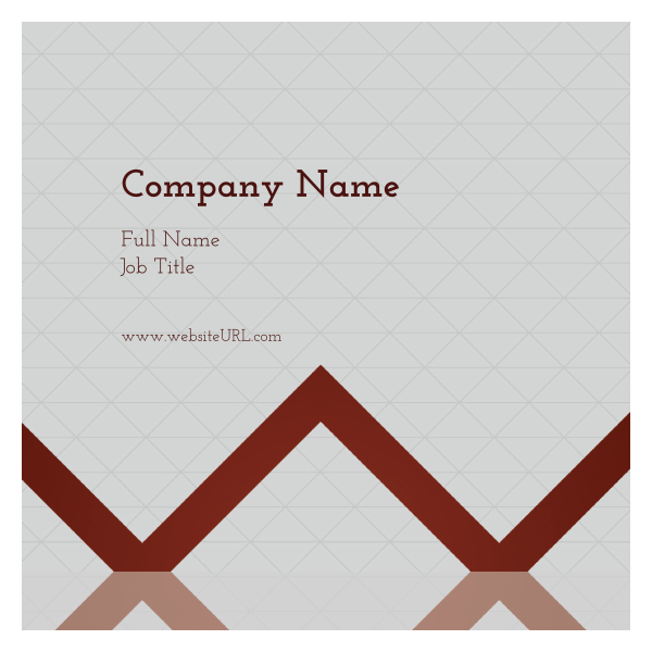 Triangle Grid back - Ultra Business Cards Maker