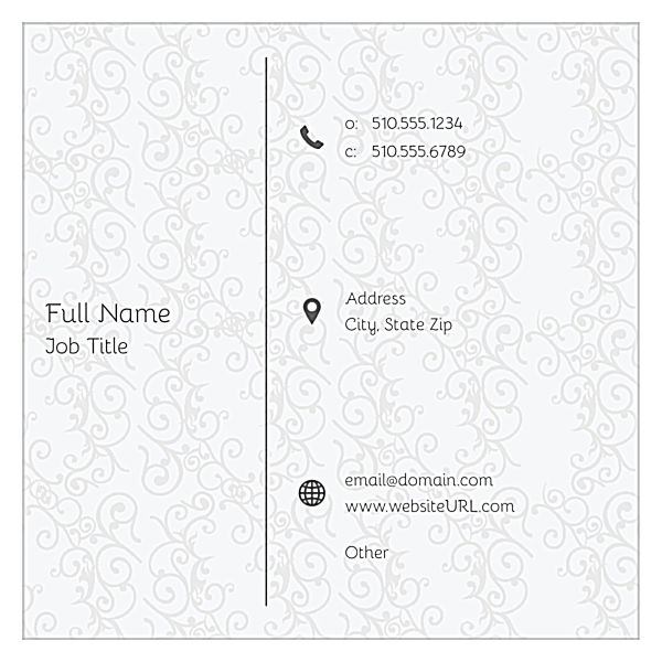 Stay Classy front - Ultra Business Cards Maker