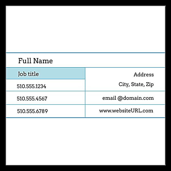 Grid front - Ultra Business Cards Maker