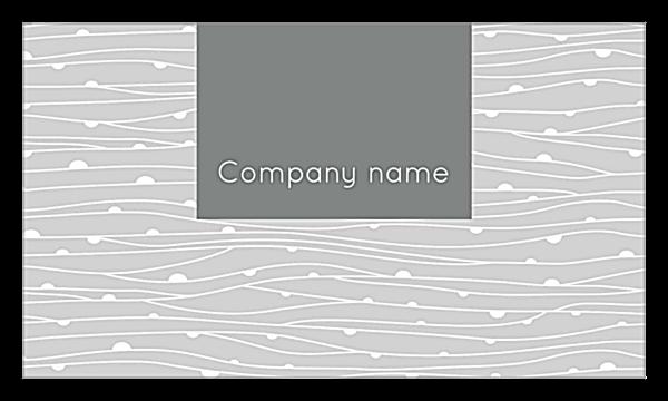 Vines Card back - Ultra Business Cards Maker