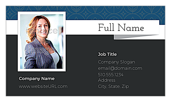 Fun Estate front - Ultra Business Cards Maker