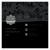 Swirl the Wine - ultra-business-cards Maker