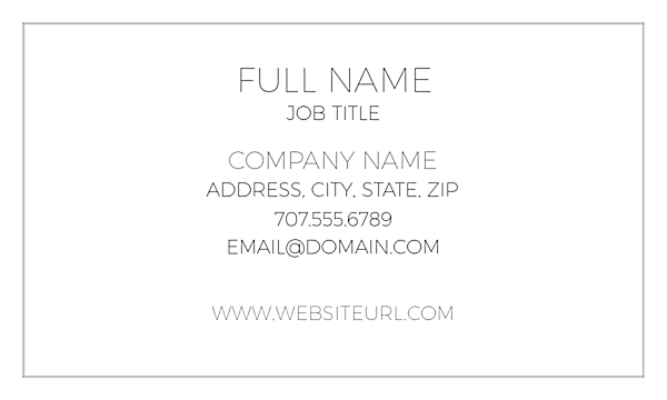 Center One front - Ultra Business Cards Maker