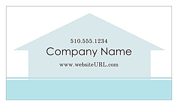 Home Again Real Estate back - Ultra Business Cards Maker