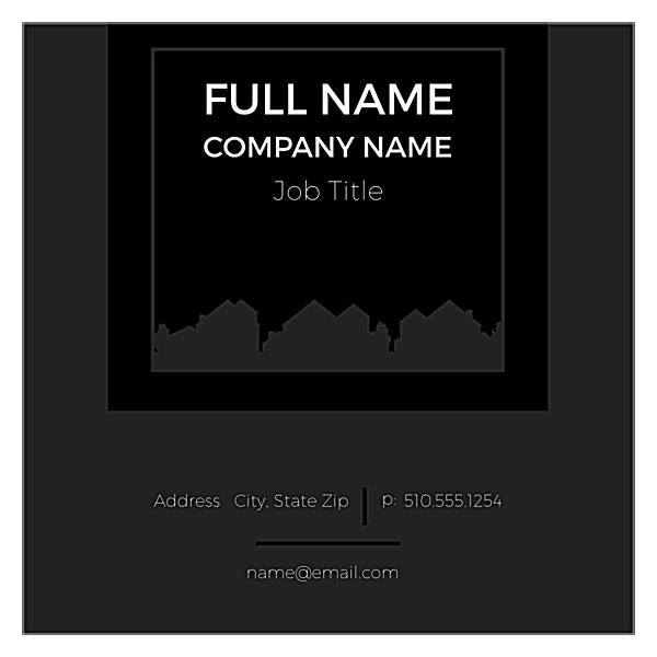 Homes Made Simple front - Ultra Business Cards Maker