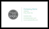 Teal Shimmer - ultra-business-cards Maker