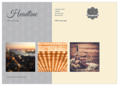Swirly Banner - ultra-postcards Maker