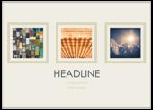Three Square - ultra-postcards Maker