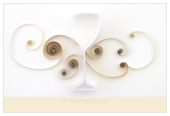 Quilling Wine Glass - ultra-postcards Maker