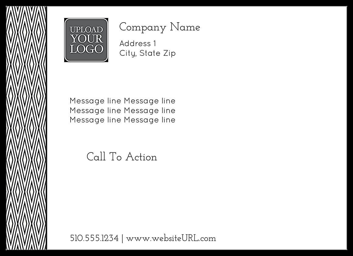 Ultra-Postcards-Individual-70-5x7-HR-standard back - Ultra Postcards Maker