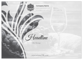 Swirl the Wine - ultra-postcards Maker