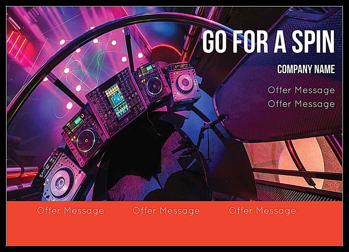 Mixer front - Ultra Postcards Maker